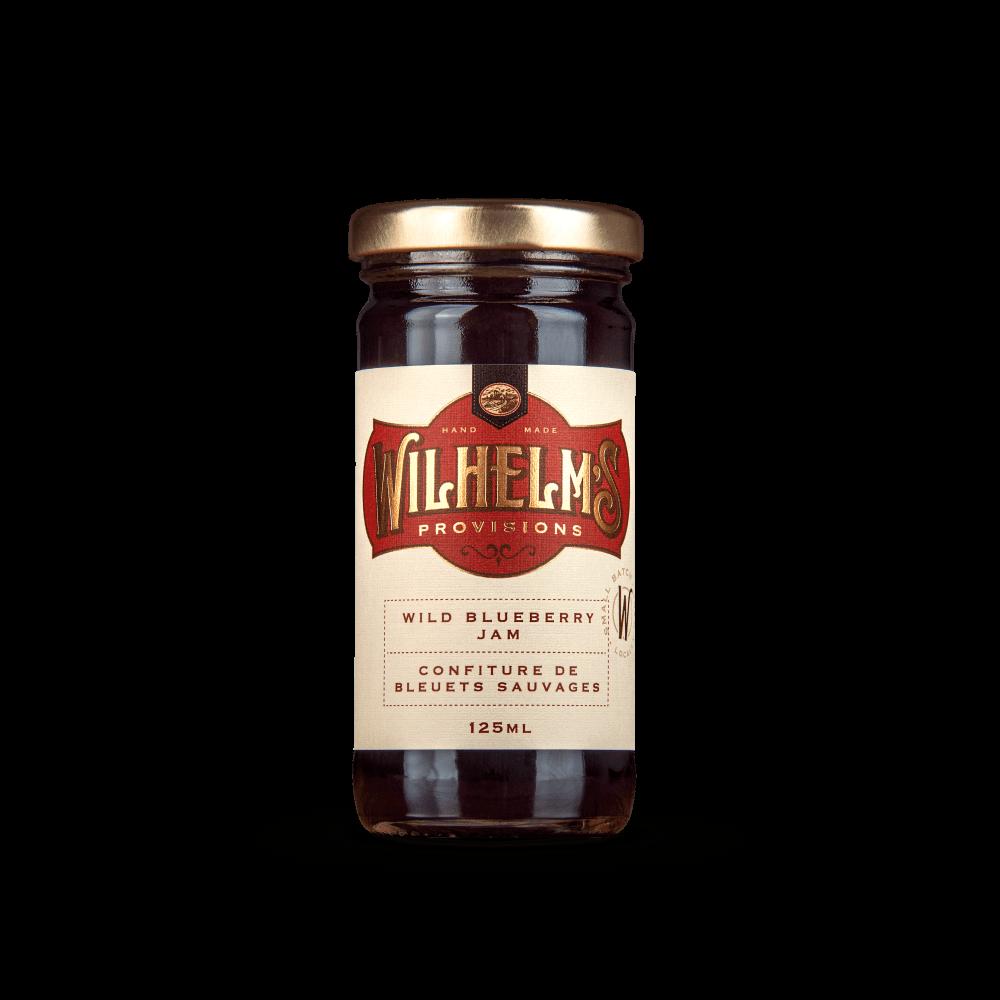 Wilhelm's Provisions Wild Blueberry Jam