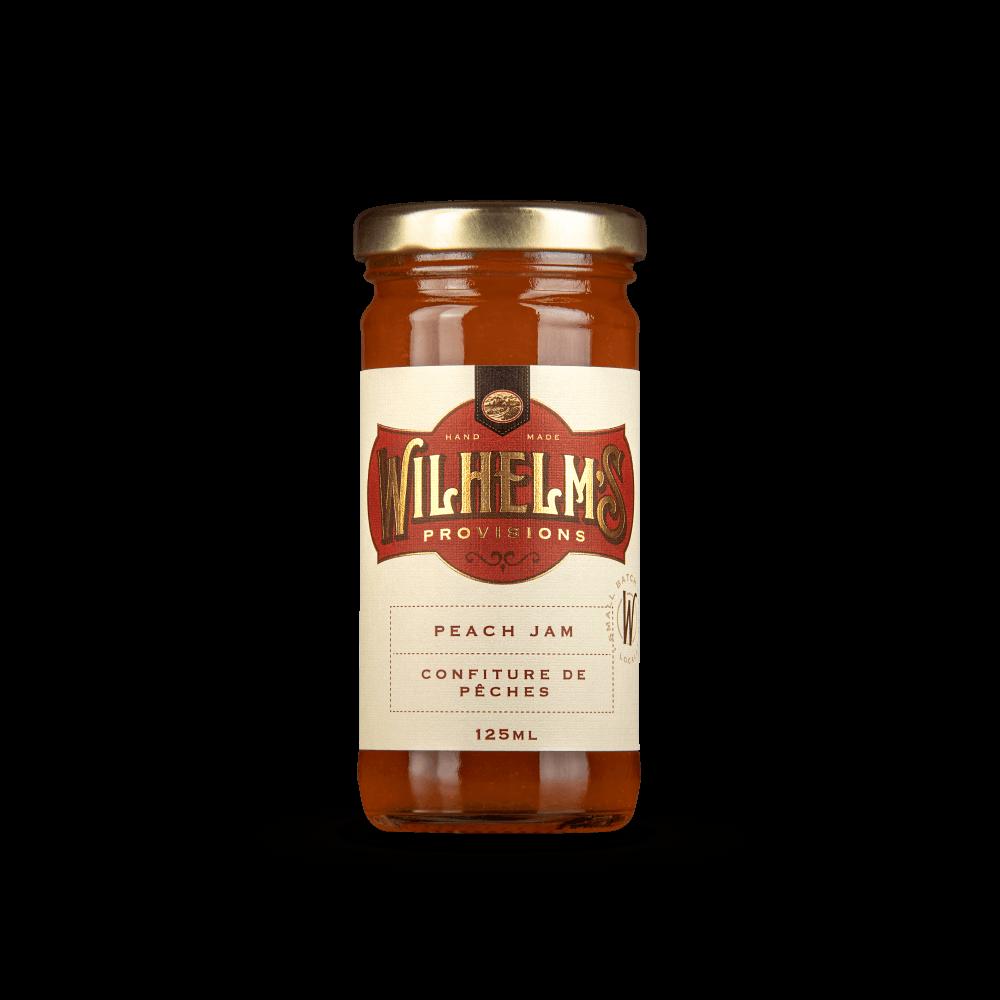 Wilhelm's Provisions Peach Jam