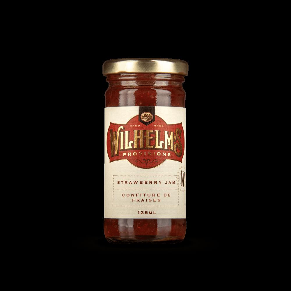 Wilhelm's Provisions Strawberry Jam