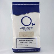 Organic Whole Wheat Cake and Pastry Flour 1.25KG