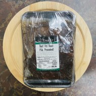 Beef Pot Roast (1 Pound.Precooked)
