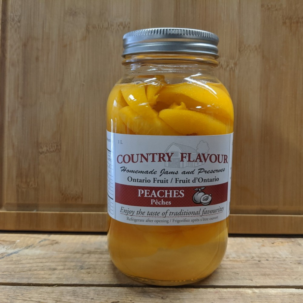 Country Flavor Peaches (1 L)