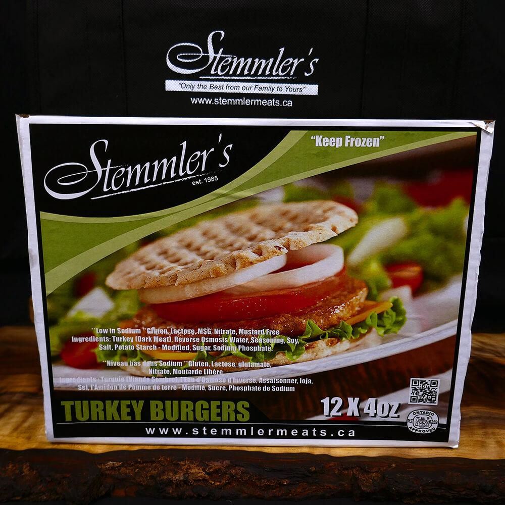 Burgers - Turkey (12 x 4 oz)