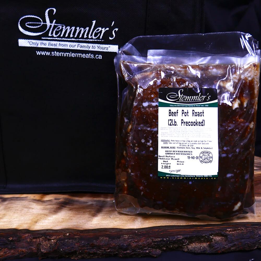 Beef - Pot Roast - Precooked (2 lb)